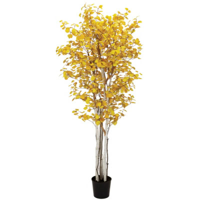 Aspen Tree 7' - Artificial Trees & Floor Plants - Artificial Fall trees for rent