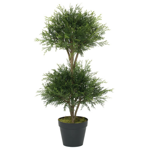 Pine Cedar Ball Dbl Topiary - Artificial Trees - Topiary Christmas Wedding Trees Minneapolis