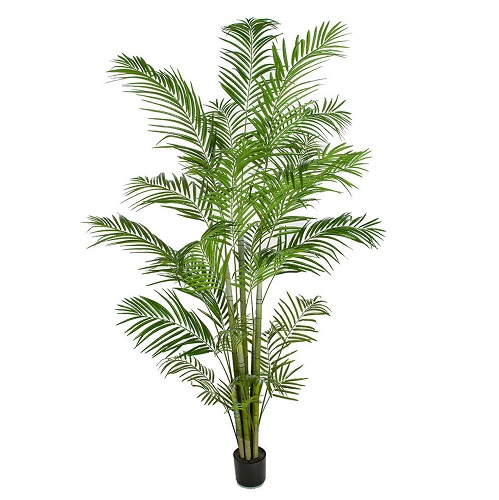 Areca Palm 12' Potted - Artificial Trees & Floor Plants - artificial 12 foot palm tree for sale