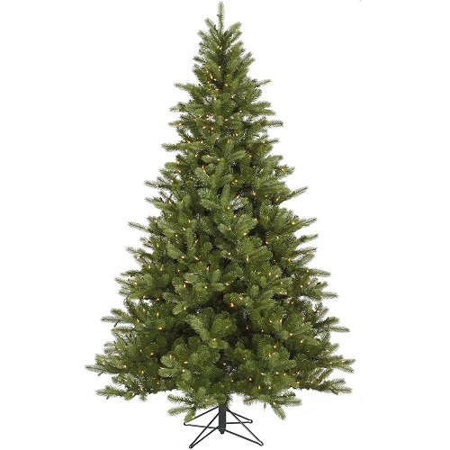 12' King Spruce Dura Lit - Artificial Trees & Floor Plants - 12 foot artificial Christmas tree for rent