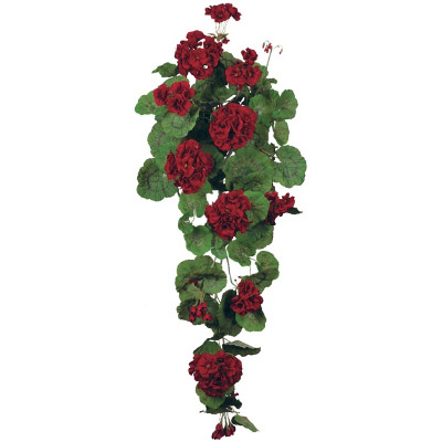Geranium Hanging Vine - Artificial floral - artificial hanging floral rentals for prom