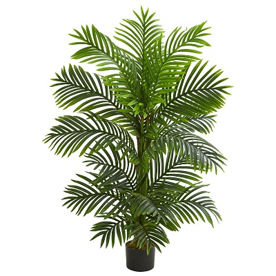 Bamboo Palm 4' Potted - Artificial Trees - cheap palm trees