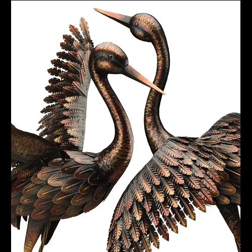 Open Winged Bird Stakes - Idea Gallery - Elegant Metal Birds display