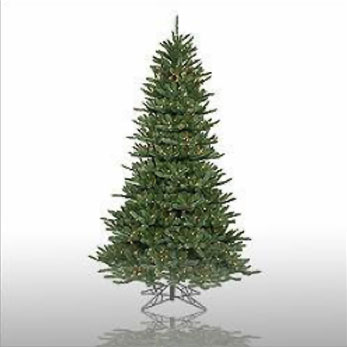 Slim Frasier Blue 7' 5 - Artificial Trees & Floor Plants - artificial Christmas trees for rent