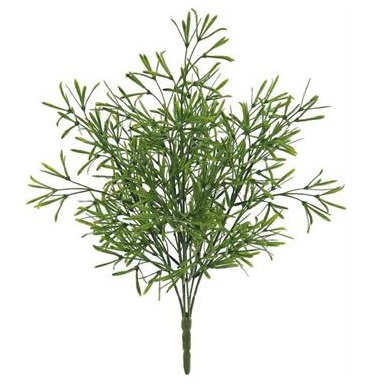 Asparagus Bush - Artificial floral - unique foliage artificial small bush