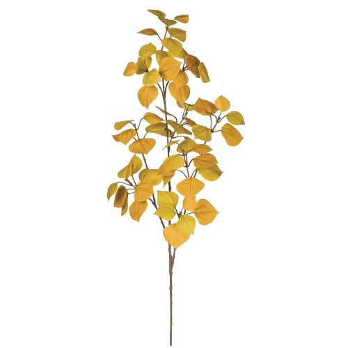 Aspen Leaf Tall Stem - Artificial floral - Fall leaf foliage artificial stems