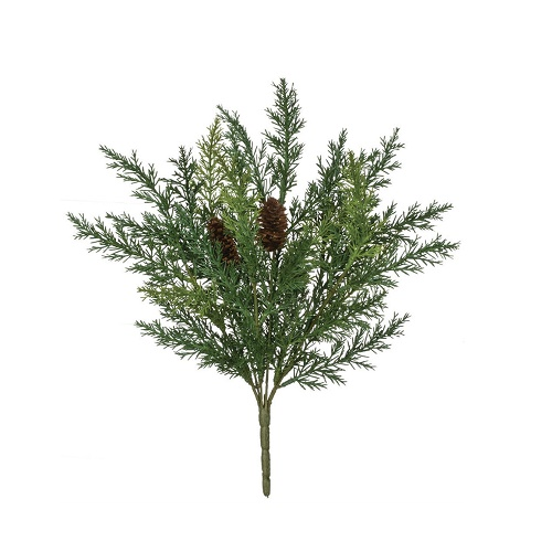 Arborvitae Bush - Artificial floral - Green fillers for artificial Christmas arrangements