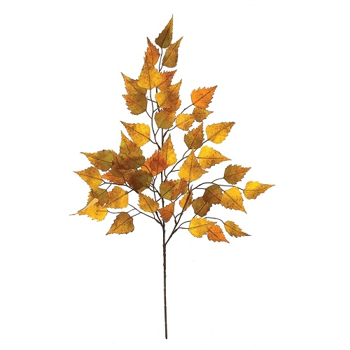 Artificial Birch Stem Spray - Artificial floral - Artificial Birch Leaf Spray