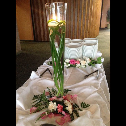 Pilzner Vase - Idea Gallery - buffet centerpiece ideas