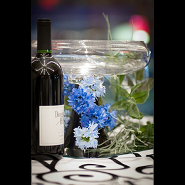 Bowl Vase Black Stem Photo Idea! - Idea Gallery - wedding centerpiece ideas