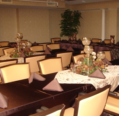 Brown Wedding Decor - Idea Gallery - Brown Wedding decorating ideas