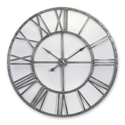 Oversized Metal Wall Clock - Themed Rentals - Giant Wall Clock