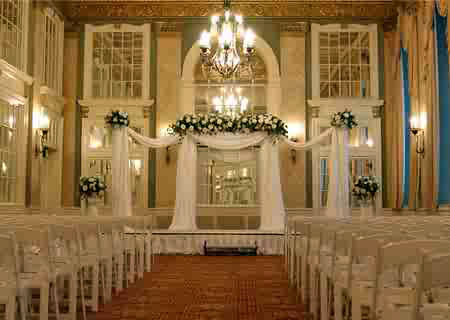 Elegant Event Backdrop - Idea Gallery - wedding pillar rentals - decorating idea