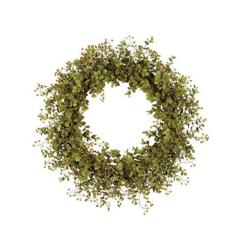 Eucalyptus Wreath - Artificial floral - artificial eucalyptus wreath for rent or sale