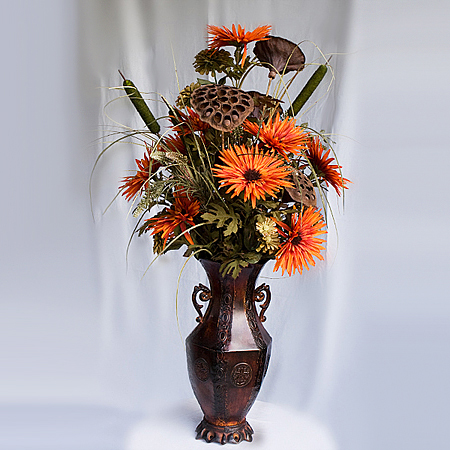 Fall Centerpiece - Centerpieces & Columns - Lease an artificial floral arrangment for your table or at the office