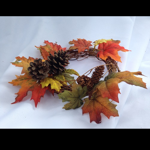 Fall Floral Ring - Centerpieces & Columns - Fall decoration table enhancement