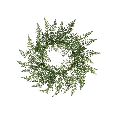 Fern Candle Ring - Themed Rentals - fern candle rings 6 inch