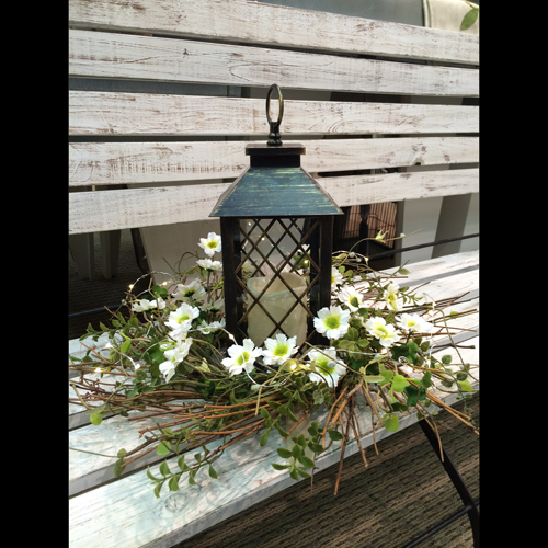 Flameless Candle Lantern - Centerpieces & Columns - cheap wedding lantern centerpiece rentals with timer