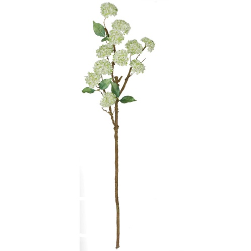 Snowball Stem - Artificial floral - Wedding filler flowers for artificial arrangements