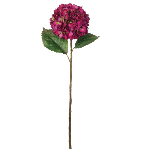 Hydrangea Magenta - Artificial floral - Magenta colored flowers