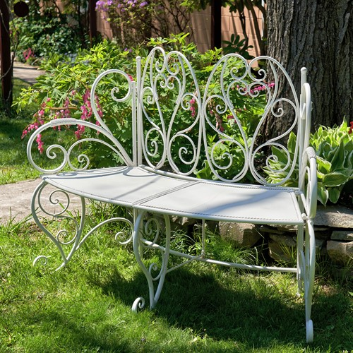 Wedding Bench - Exclusive Ironworks - Wedding Bench for rent MN