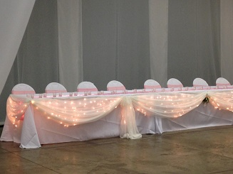 Elegant head table decor - Idea Gallery - Gorgeous head table decor