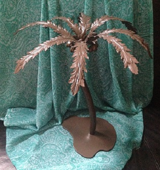 Metal Palm Tree Centerpiece - Centerpieces & Columns - Tropical theme centerpiece