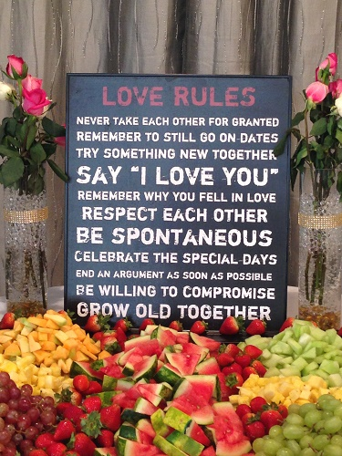 LOVE RULES Fruit Plate Idea - Idea Gallery - Unique Fruit Plate Ideas