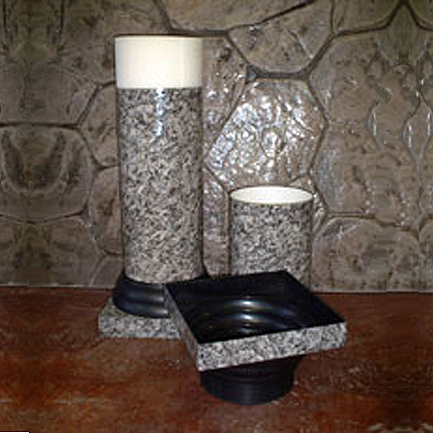 Marble Looking Column 3ft - Centerpieces & Columns - speaker stage equipment