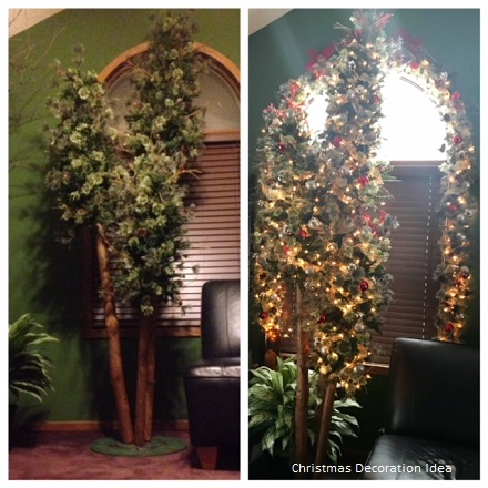 Northwoods Trio 9.5' - Artificial Trees & Floor Plants - Rent artificial Northwoods trees