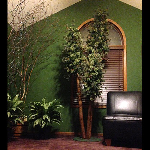 Northwoods Trio - Artificial Trees - Rent artificial Northwoods trees