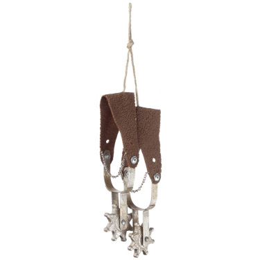 Spurs Ornament - Themed Rentals - Cowboy Spurs hanging decoration