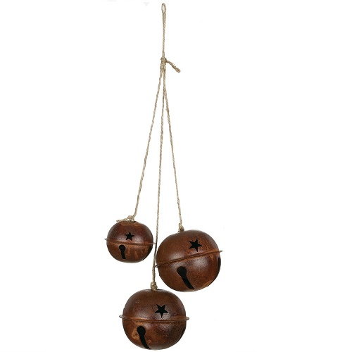 Western Bells x3 - Themed Rentals - Western Bells ornament bulk sales