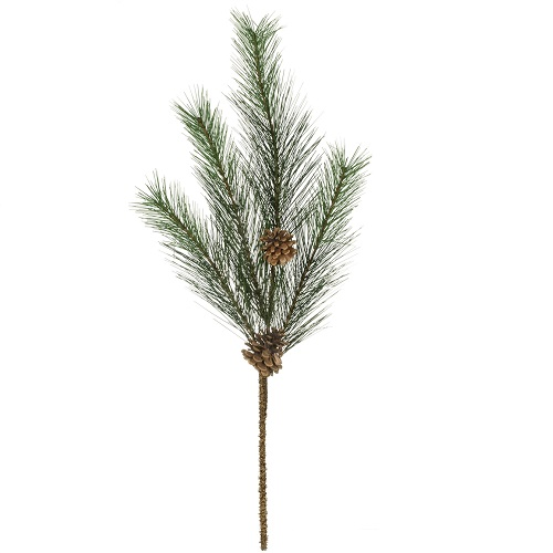 Tall Pine with Cones Spray - Artificial floral - sturdy executive picks with pine cones