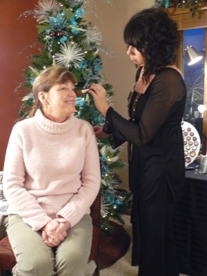Twin Cities Salon Holiday Event - Idea Gallery - Hire someone to decorate your business or home for Christmas.  Lease itmes so you don't have to store them!