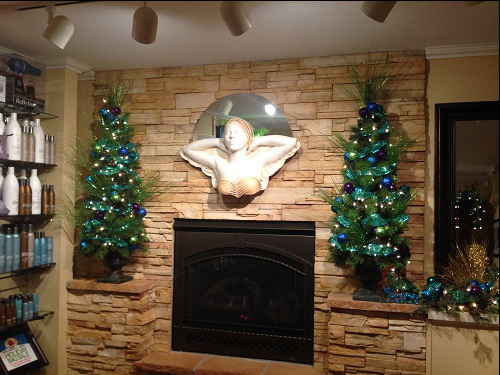 Christmas Decorating Ideas for Hair Salon - Idea Gallery