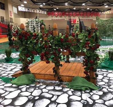 Prom Bridge Decor Idea - Idea Gallery - red geranium bushes artificial