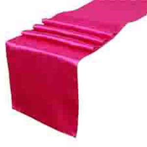 Table Runners Satin - Events & Themes - Satin Table Runners for rent