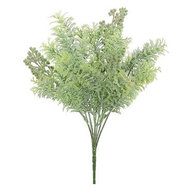 Seeding Lace Leaf Stem - Artificial floral - unique filler stem light green