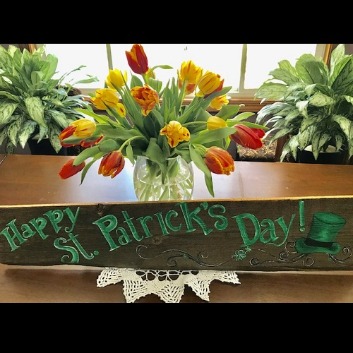 Happy St. Patricks Day! Sign - Themed Rentals - rent a St. Patricks Day Sign decoration
