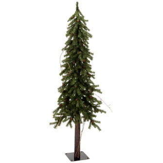 4' Northwoods Alpine with Twigs  - Themed Rentals - Northwoods Artificial Tree 4 foot