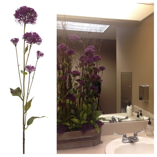 Trachelium - Artificial floral - Tall Purple Flowers for weddings
