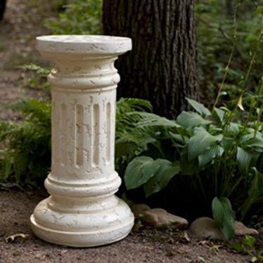White Ceramic Column - Centerpieces & Columns - stage equipment