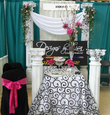 Tradeshow Displays - Idea Gallery - White 4 foot Wedding Columns for rent