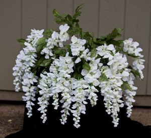 Giant Wisteria Bush - Artificial floral - artificial white wisteria bushes for rent