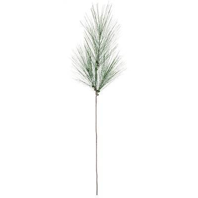Pine With Snow Long Needle Branch - Large - Artificial floral - artificial Christmas branches
