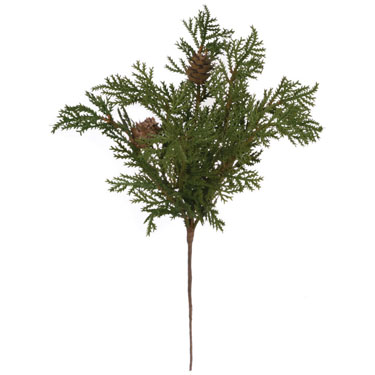 Cypress Pick - Artificial floral - beautiful Christmas picks
