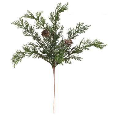 Cypress Branch - 3 feet - Artificial floral - Large artificial Christmas filler branches for sale