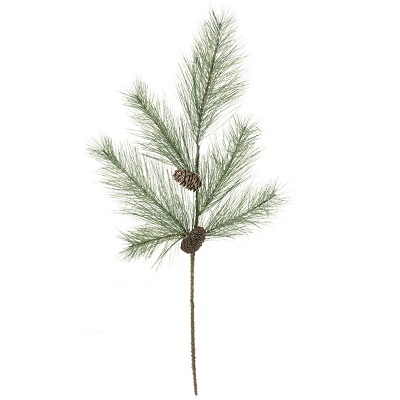 Pine with Cones Snow Spray - Themed Rentals - Long needle pine picks for sale