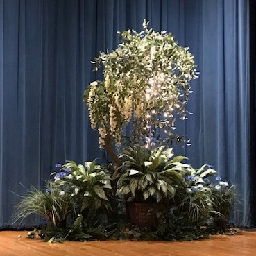 Rent-A-Woods Stage Rentals - Artificial Trees & Floor Plants - Rent an artificial woods event rentals